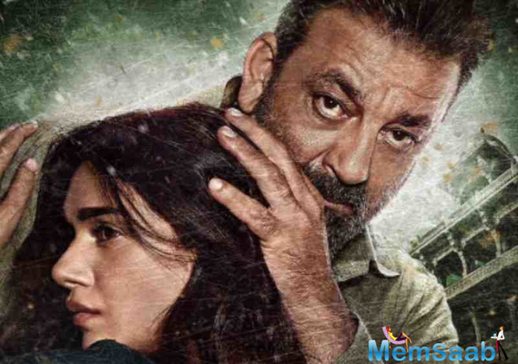 The much-awaited trailer of Bollywood actor Sanjay Dutt's comeback film 'Bhoomi' is out.