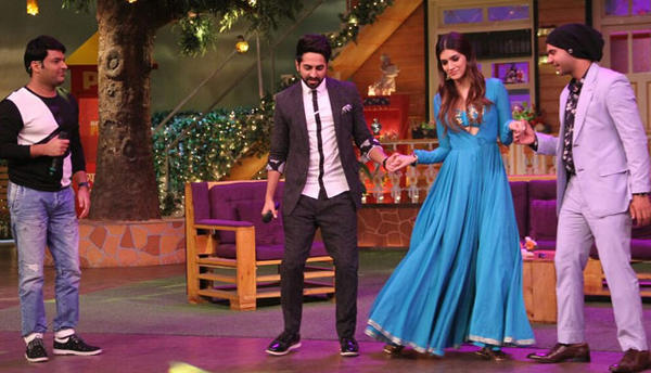 Pictures of the show, seems that the 'Bareilly Ki Barfi' team had a blast on the show.