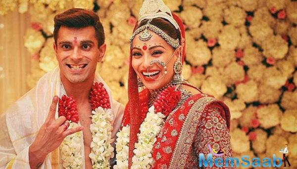 Bipasha Basu tied the knot with Karan Singh Grover last year.