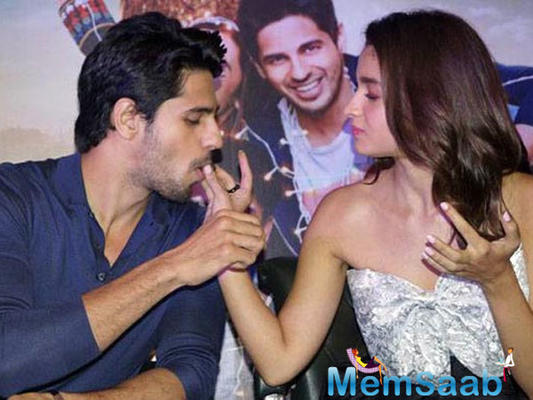 Sidharth Malhotra: Alia Bhatt and I are just colleagues