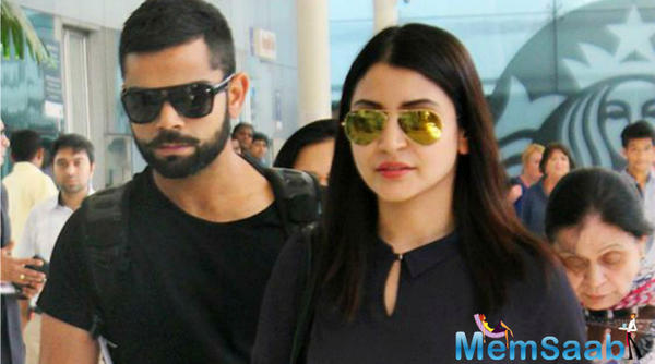 Indian skipper Virat Kohli, Anushka and coach Ravi Shastri bond together