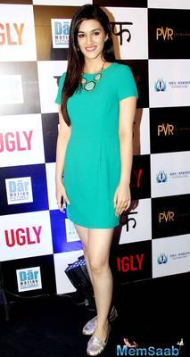 Kriti Sanon upset over actors getting typecast in Bollywood