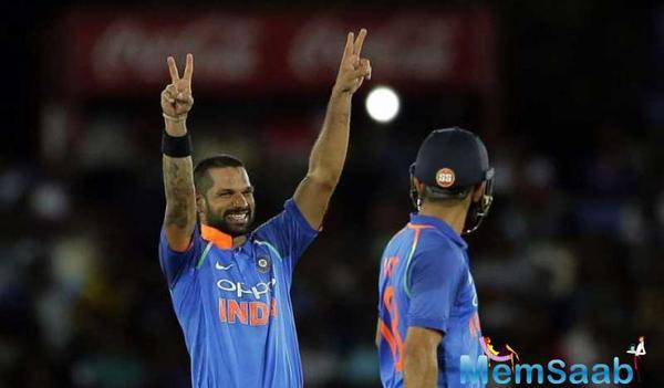 Shikhar Dhawan, Virat Kohli's  outstanding performance helps India won 1st ODI over Sri Lanka
