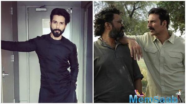Shahid Kapoor to collaborate with Toilet Ek Prem Katha director?