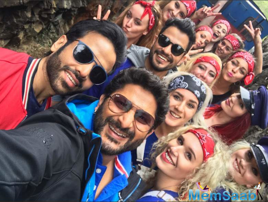 Actor Arshad Warsi has finished shooting for his upcoming film