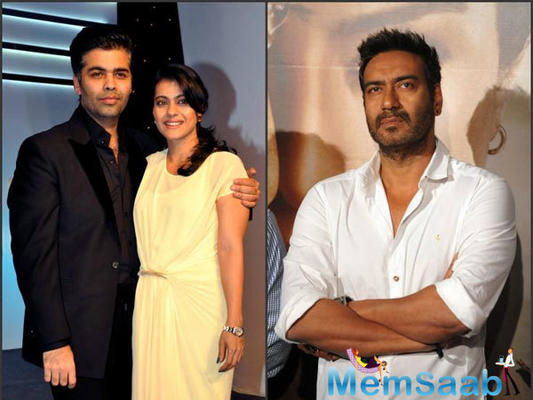 Find here! What Ajay Devgn has to say about the patch-up reports between Karan Johar and Kajol