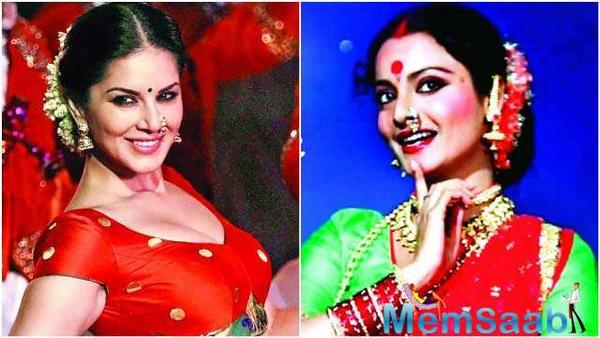 Sunny Leone to pay tribute to Rekha in a special song for forthcoming Marathi film 'Boyz'