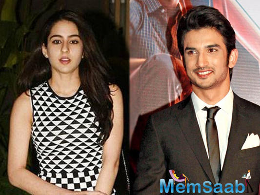 So adorable! Sara Ali Khan and Sushant Singh Rajput's latest pic from set of Kedarnath