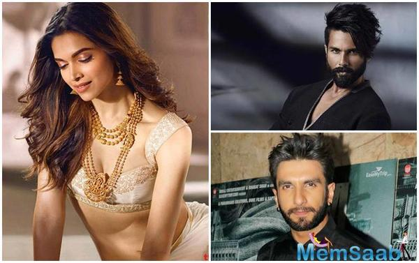 Deepika Padukone reverses wage gap, gets paid more than Ranveer Singh, Shahid Kapoor for 'Padmavati'