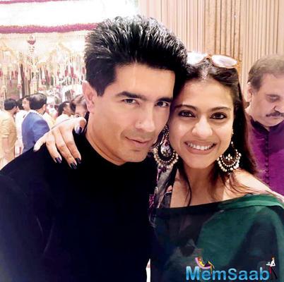 Kajol patches up with Manish Malhotra