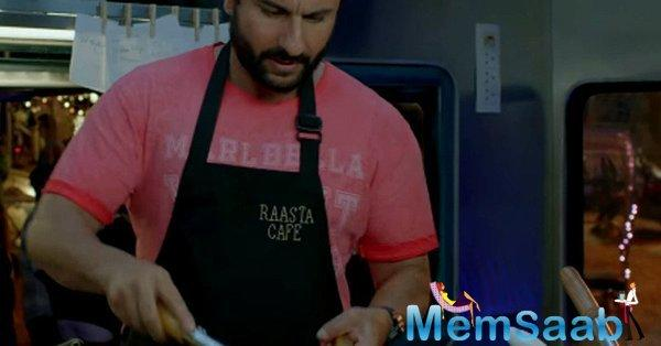 The trailer of the much-awaited film 'Chef' starring Saif Ali Khan is out! The Nawab and his on-screen son Svar Kamble share heartwarming chemistry.