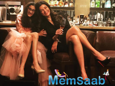 Sushmita Sen wishes daughter Renee on her 18th b'day in adorable post