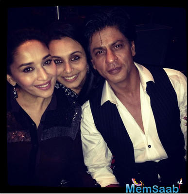 SRK, Rani and Madhuri to attend Hema Malini's dance show in Mumbai