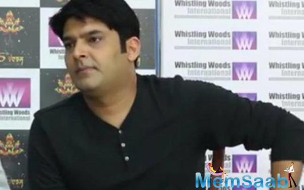 Kapil Sharma promises to be back with a blast