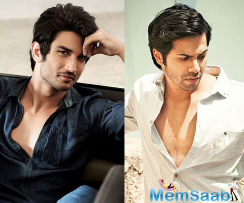 Sushant Singh replaced Varun Dhawan for a project