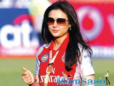 I went with the flow, says Preity Zinta