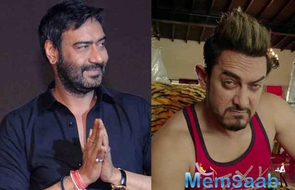 OMG! Did Ajay Devgn take a dig at Aamir Khan?
