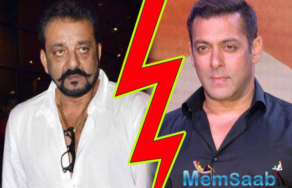 There was a time, when Sanjay and Salman has been good friends , but what's going wrong between them, why they aren't maintaining  their relationship like before?