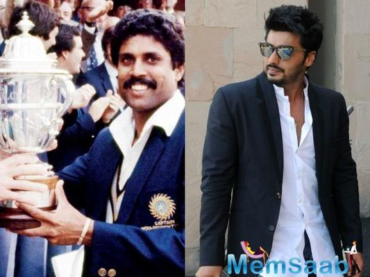 Arjun Kapoor will play Kapil Dev in Kabir Khan's film on 1983 World Cup win?