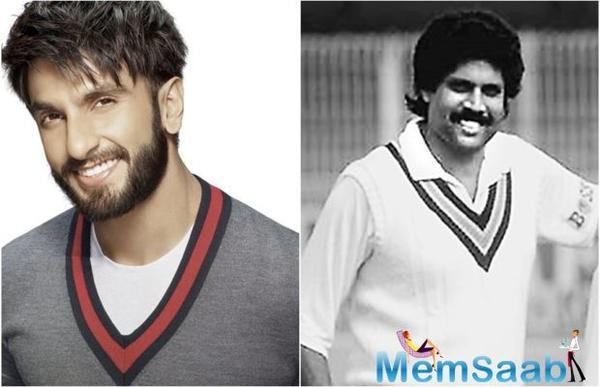 Ranveer Singh to play Kapil Dev?