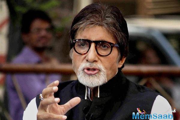 Amitabh Bachchan calls Sujoy Ghosh 'Mad Company'