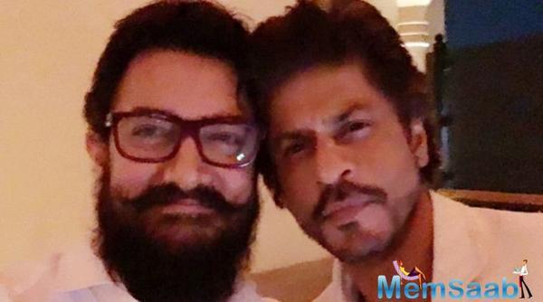 Aamir Khan: SRK is a wonderful storyteller and an entertaining person, I love listening to him