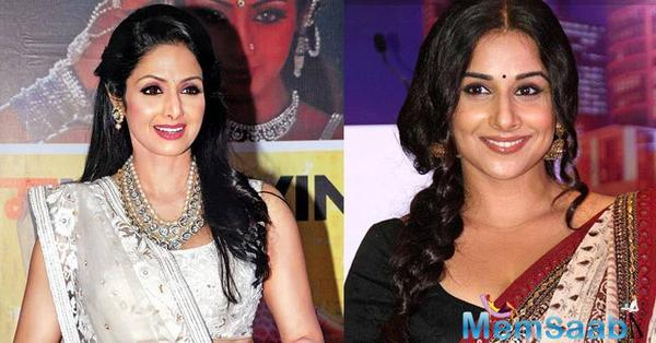 Sridevi to launch the new version of her 'Hawa Hawai' song in Vidya Balan starrer 'Tumhari Sulu'