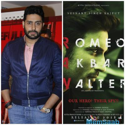 Abhishek who was last seen in Akshay Kumar's Houseful 3 has an interesting line up of movies next year.