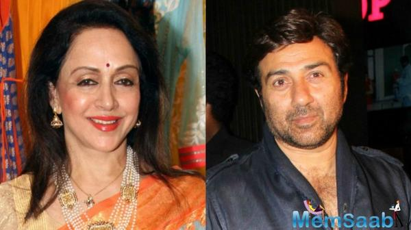 Hema Malini: Sunny was the 1st person to come & see me after my accident