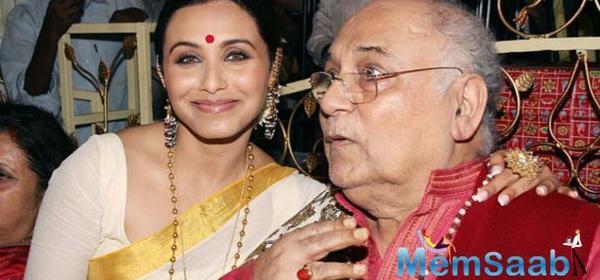 Veteran filmmaker and Rani Mukerji's dad Ram Mukherjee no more