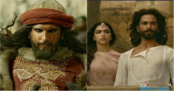 Is Shahid Kapoor unhappy with Padmavati trailer?