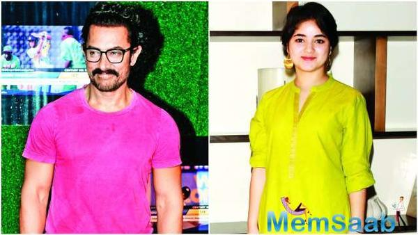Zaira has always been considered to be Aamir's protegee. After all it was him who gave him a break with Dangal, which later turned out be the biggest blockbuster of 2016.
