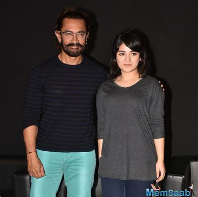 Secret Superstar actress Zaira Wasim: Aamir Khan is not my mentor