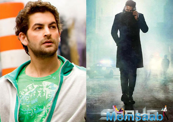 Working with Prabhas is fun but difficult: Neil Nitin Mukesh
