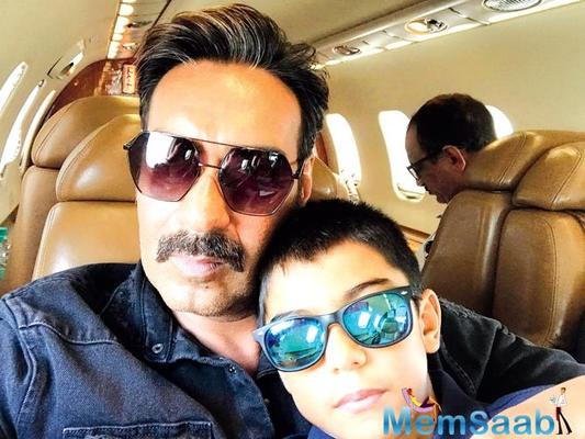 Ajay Devgn's son Yug to play host at 'Golmaal Again' special screening for family and friends