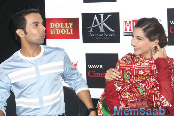 Rajkummar Rao to romance Sonam Kapoor in his next?