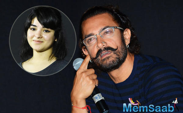 Find here! What Zaira Wasim says on Aamir Khan's praise