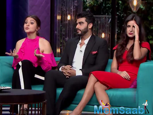 Arjun Kapoor wants Anushka and Katrina