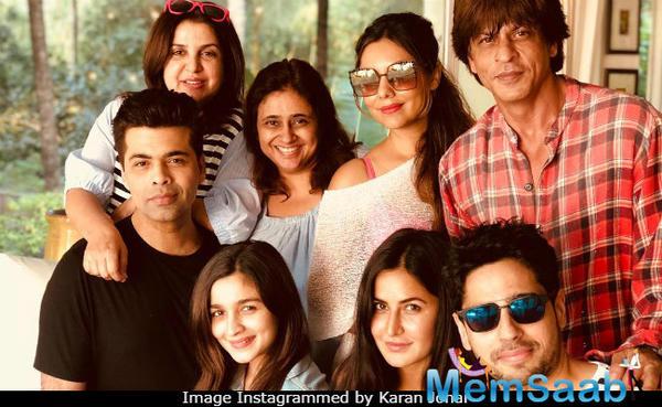 SRK has not signed any new film because of Anushka and Katrina