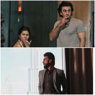 Ranveer Singh reacts to Ranbir Kapoor-Mahira Khan's viral photos
