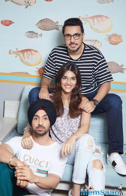 Kriti Sanon and Dinesh Vijan reunited for a comedy film, which also stars Diljit Dosanjh