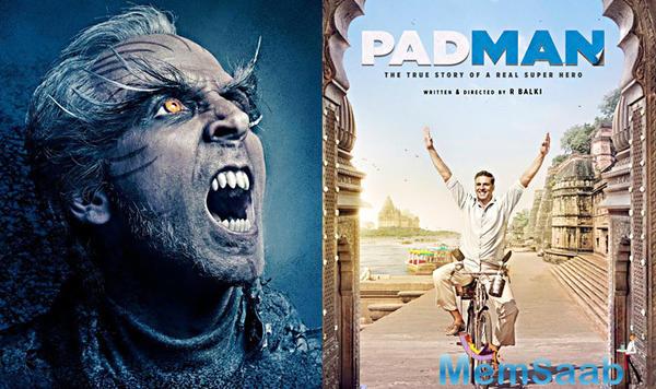 Akshay Kumar clarifies there will be no clash between Padman and 2.0
