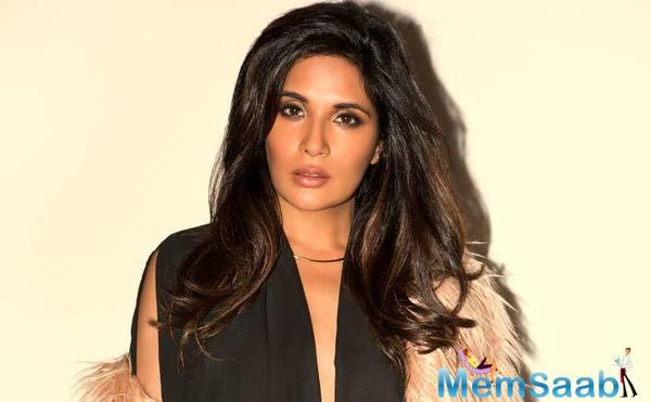 The actress will soon be seen in Fukrey Returns which is a sequel to Fukrey which released in 2013. The film was a hit affair at the box office.