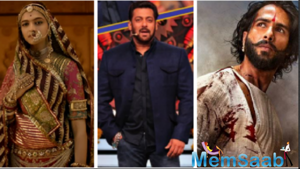 This is what Salman Khan has to say about Padmavati ongoing controversy!