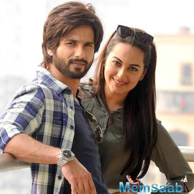 What! Sonakshi, Shraddha strong contenders opposite Shahid Kapoor?