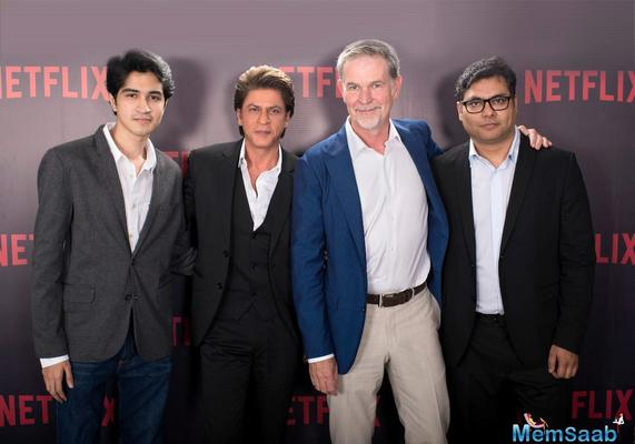 Shah Rukh Khan's Red Chillies ties up with Netflix for political espionage thriller