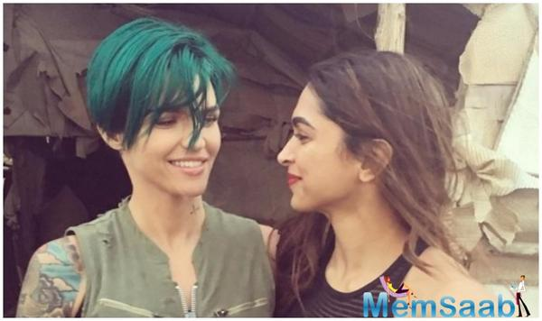 Deepika Padukone's 'xXx' co-star Ruby Rose comes out in support of her