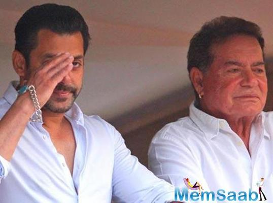 Salman Khan's father Salim Khan will manage his business