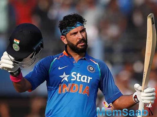 Yuvraj Singh awarded Ph.D from ITM University