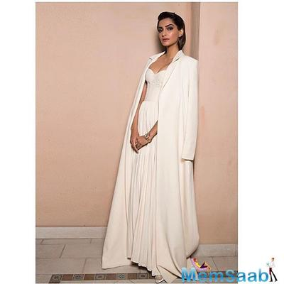 Recently, Sonam and her sister Rhea also introduced their clothing line which is named Rheson and it has some unusual and different collections.